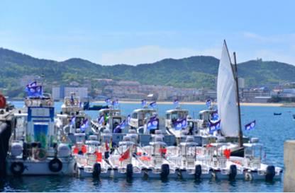 獐子岛再次迎来全国海钓大赛